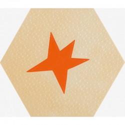 Pavimento / Revestimiento Hex Agatha 21 Estrella 19.8x22.8